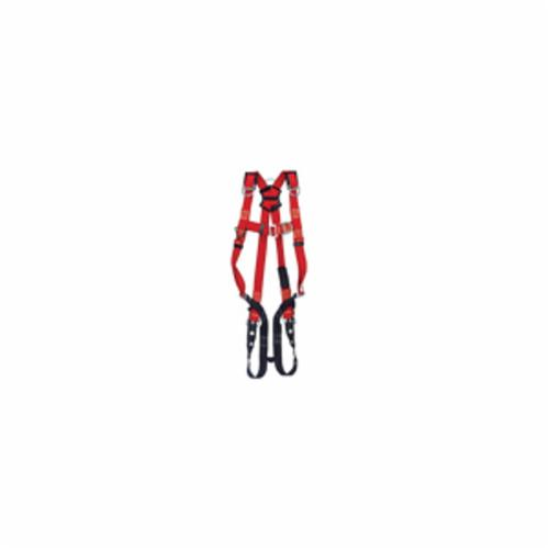 3M Protecta Fall Protection 1191392C Pro™ Welder Harness, M/L, Tongue Leg Strap Buckle, Pass-Thru Chest Strap Buckle