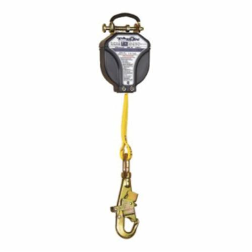 3M DBI-SALA Fall Protection Talon™ 3101001C Quick-Connect Self-Retracting Single Leg Lifeline With Self-Locking Swivel Snap Hook, 75 to 310 lb Load Capacity, 8 ft L, Specifications Met: ANSI Specified, CSA Z259.2.2 Type 1