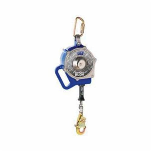 3M DBI-SALA Fall Protection 3400850C Sealed-Blok™ Self-Retracting Lifeline With Swivel Snap Hook, 420 lb Load Capacity, 30 ft L, Specifications Met: ANSI Z359.14, ANSI Z359.4, CSA Z259.2.2 Type 3, OSHA 1910.66, OSHA 1926.502