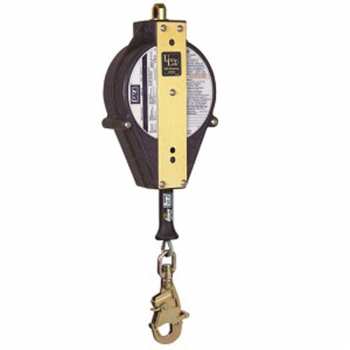 3M DBI-SALA Fall Protection Ultra-Lok™ 3504434C Self-Retracting Lifeline With Swivel Snap Hook, 75 to 310 lb Load Capacity, 20 ft L, Specifications Met: ANSI Z359.14, ANSI A10.32, CSA Z259.2.2 Type 2, OSHA 1910.66, OSHA 1926.502
