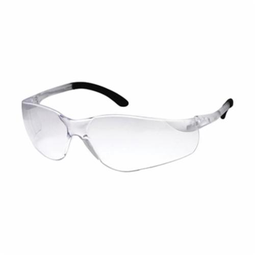 DenTec™ 90801 Sentinel Lightweight Protective Glasses, Impact Resistant/Scratch Resistant Clear Lens, Wraparound Clear Polycarbonate Frame, Polycarbonate Lens, Specifications Met: ANSI Z87.1