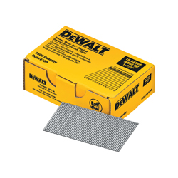Black+Decker® DCA16150 20 deg Angled Heavy Duty Finish Nail, 1-1/2 in L, 16 ga, Galvanized, Stamped Steel