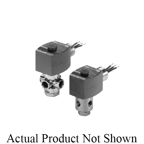 Asco Redhat® 8320G174 Solenoid Valve, 1/4 in, NPT, Brass Body