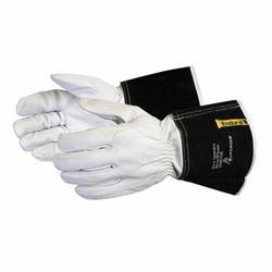 Endura® 370CTIGL Precision Arc TIG Welding Gloves, L, Goat Skin Leather/Kevlar® Sewn, Gauntlet Cuff