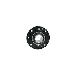 Link-Belt® FCB22440H B22400 Fixed Flanged Cartridge Block Spherical Roller Bearing, 2-1/2 in Bore, 4-19/32 in, 6-1/2 in, 4-Bolt/Piloted Round, 7-5/8 in