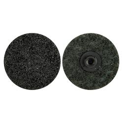 Merit® 08834167821 Type AG Non-Woven Abrasive Quick-Change Disc, 2 in Dia, Extra Coarse Grade, Aluminum Oxide Abrasive, Type TS (Type II) Attachment