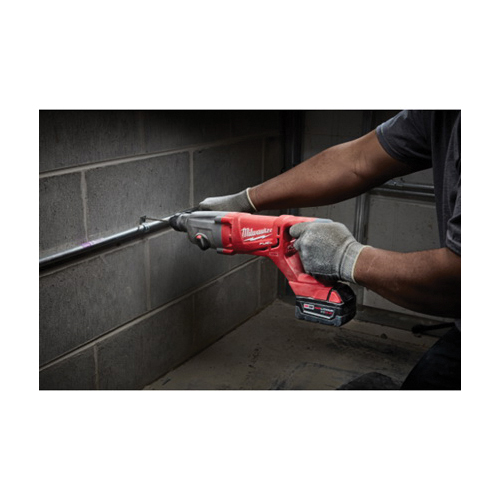 Milwaukee® POWERSTATE™ 2713-22HD M18™ FUEL™ Cordless Rotary Hammer Kit, 1 in SDS Plus Chuck, 18 VDC, 0 to 1500 rpm No-Load, Lithium-Ion Battery