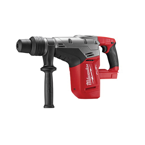 Milwaukee® POWERSTATE™ 2717-20 M18™ FUEL™ Cordless Rotary Hammer Drill, 1-9/16 in SDS Max® Chuck, 18 VDC, 0 to 450 rpm No-Load, Lithium-Ion Battery