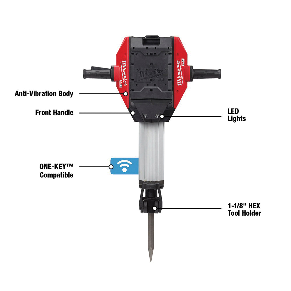 Milwaukee® MX FUEL™ MXF368-1XC Cordless Breaker, 120 V, MX FUEL™ REDLITHIUM™ Lithium-Ion Battery