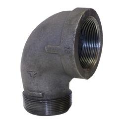 Anvil® 0311016604 FIG 1103 Straight Street 90 deg Elbow, 1 in, FNPT x MNPT, 150 lb, Malleable Iron, Galvanized, Domestic