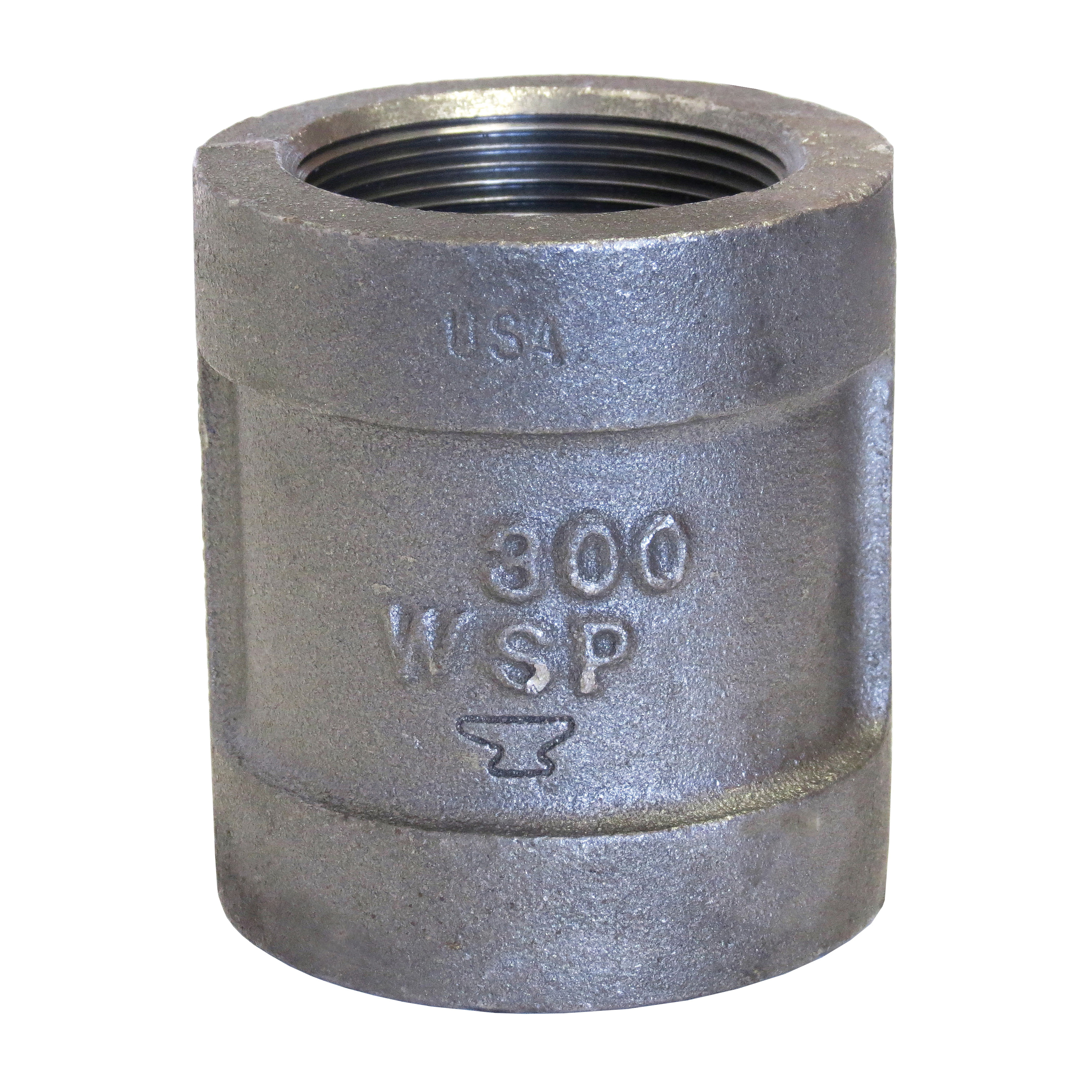 Anvil® 0311539605 FIG 1166 Pipe Coupling, 2 in, FNPT, 300 lb, Malleable Iron, Galvanized, Domestic