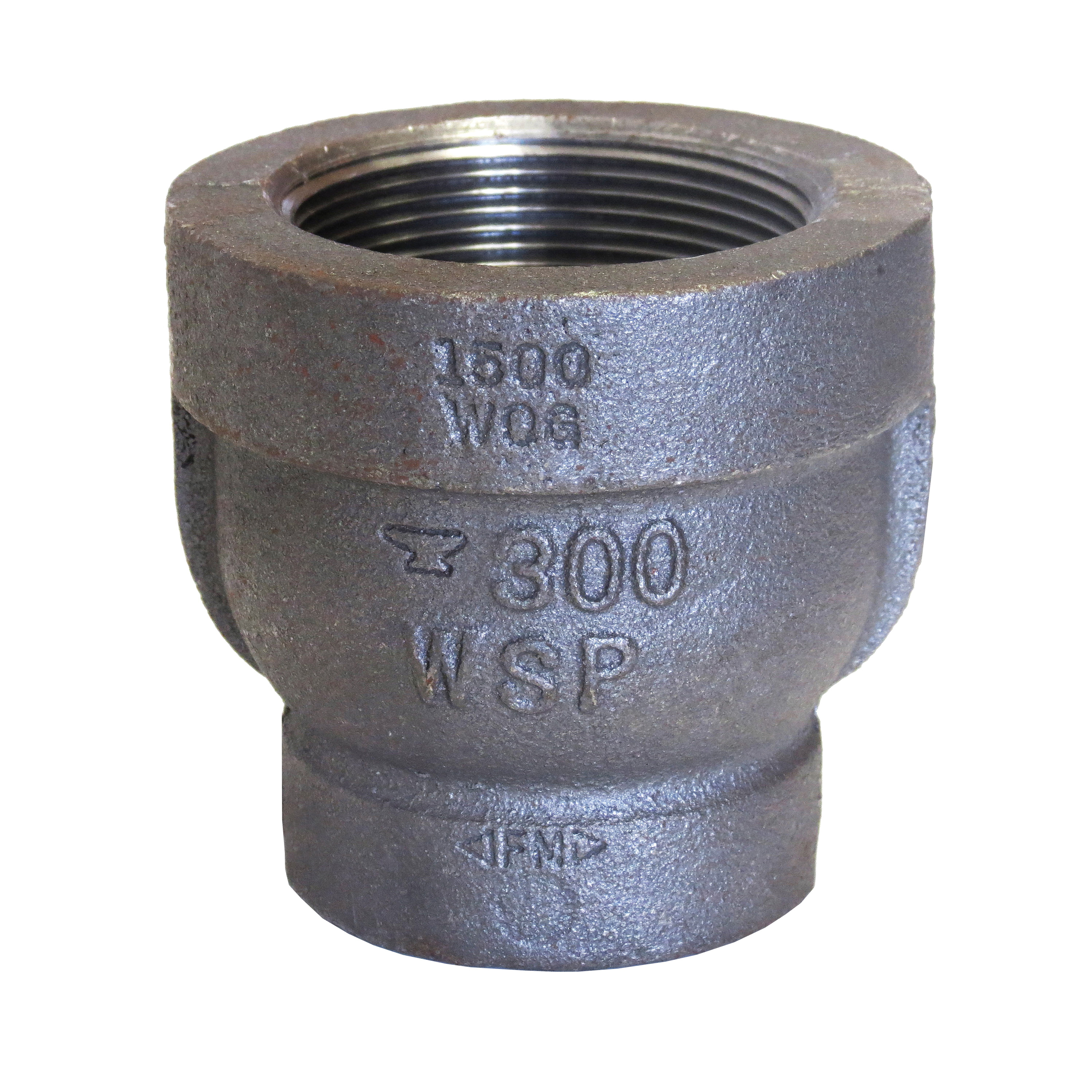 Anvil® 0311544803 FIG 1167 Pipe Reducer, 2 x 1-1/4 in, FNPT, 300 lb, Malleable Iron, Galvanized, Domestic
