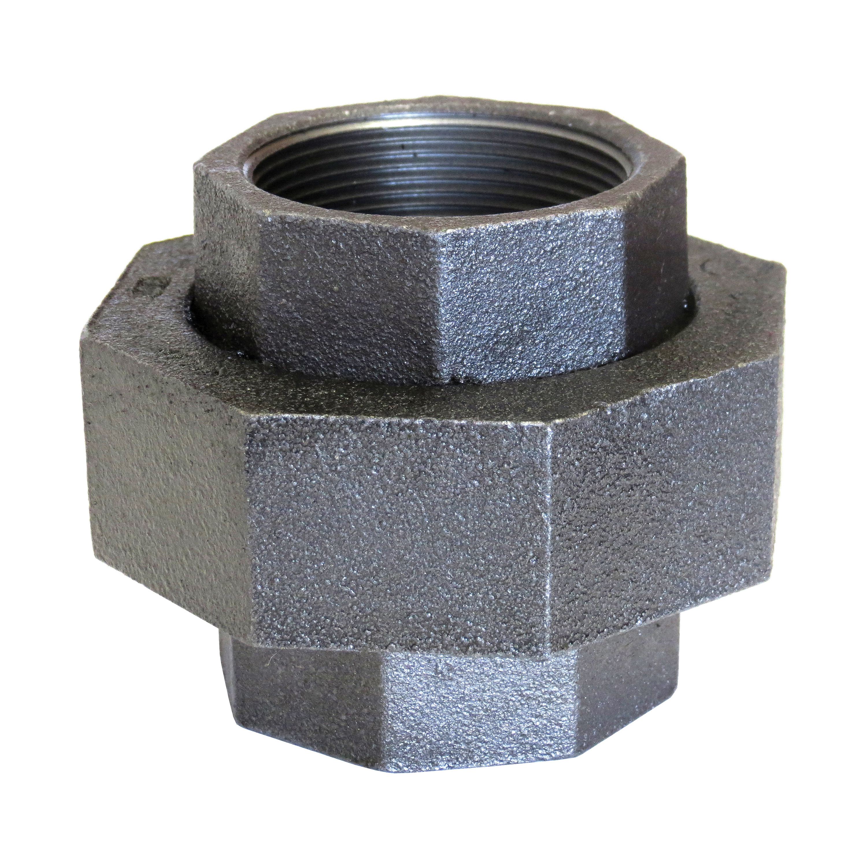 Anvil® 0313822769 FIG 459 Ground Joint Pipe Union, 2 in, NPT, 300 lb, Malleable Iron, Galvanized, Domestic