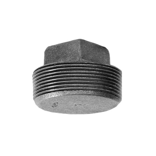 Anvil® 0319901963 FIG 388 Square Head Solid Plug, 1-1/2 in, MNPT, 125 lb, Cast Iron, Galvanized, Domestic