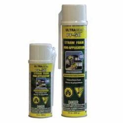NuFlex® 70600 UltraSeal® PF-50 Extreme Weather Straw Foam With Straw Applicator, 24 oz Can, Viscous Liquid, Cream, 1.1