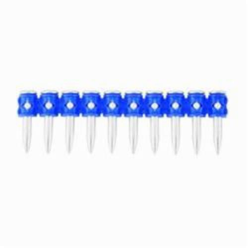 Powers® 50262N Trak-It® 1-Hole Strap Collated Drive Pin, 0.145 in Dia, 2-1/2 in L, Plastic Strip/Steel Base