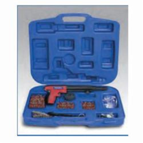 Powers® 52006-PWR Powder Actuated Tool Kit, Single Shot Firing Action, 0.22 Caliber, 12-1/2 in L Tool, Pin