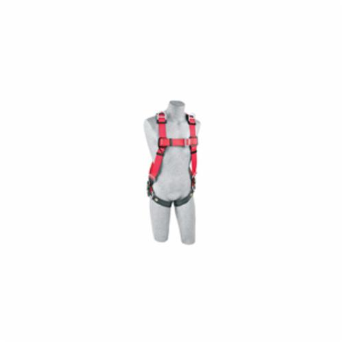 3M Protecta Fall Protection 1191216C Pro™ Retrieval  Harness, M/L, 420 lb Load, Polyester Webbing Strap, Pass-Thru Leg Strap Buckle, Pass-Thru Chest Strap Buckle, Steel Hardware