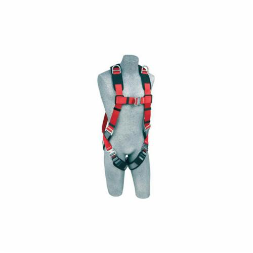 3M Protecta Fall Protection 1191257C Pro™ Retrieval Harness, M/L, 420 lb Load, Gray/Red