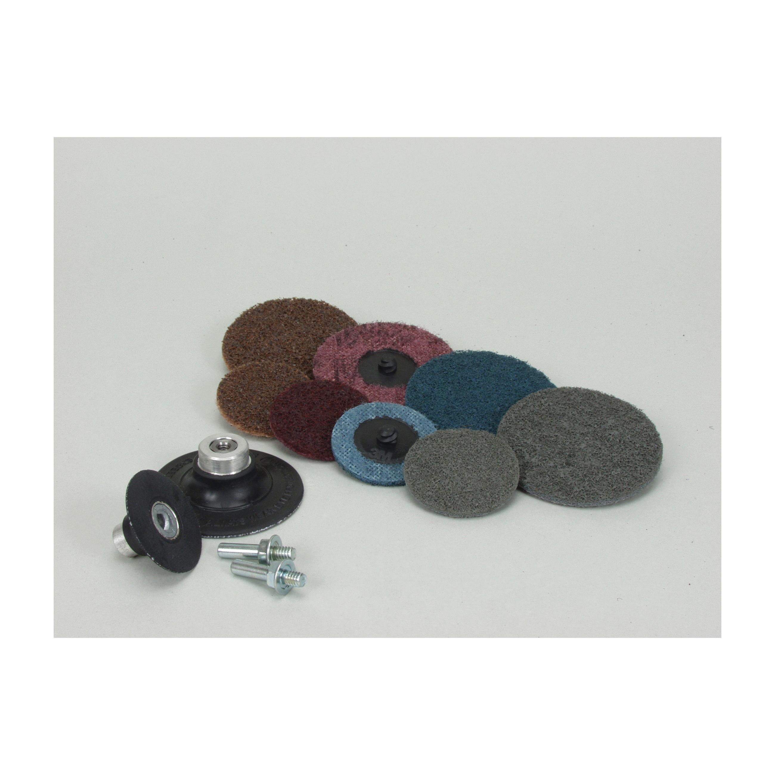 Scotch-Brite™ Roloc™ 048011-18254 Non-Woven Abrasive Quick