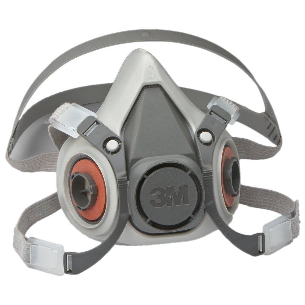 3M™ 051131-07024 6100 Half Face Mask, S, Bayonet Connection