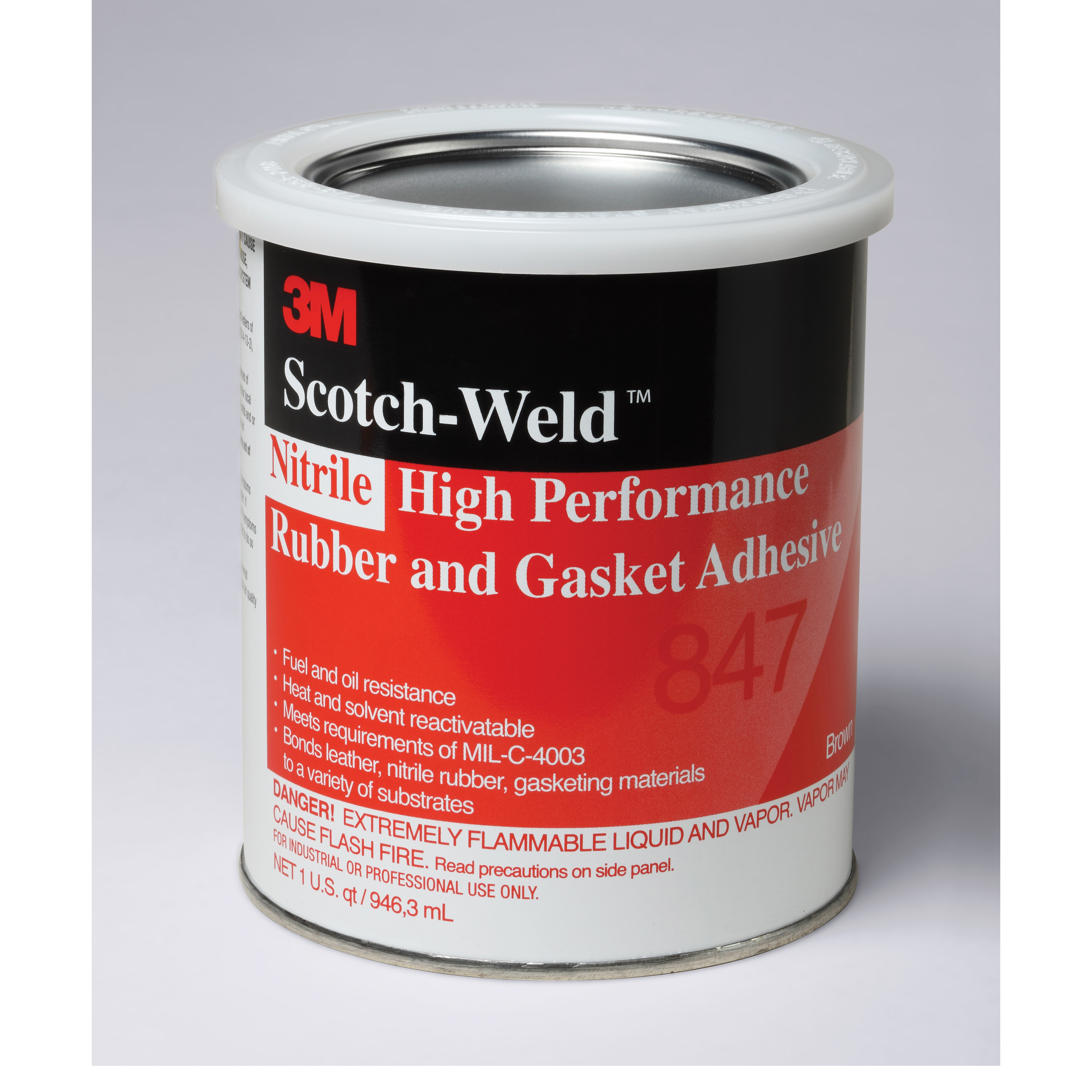 Scotch-Weld™ 021200-19723 847 High Performance Rubber and Gasket