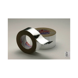 Venture Tape™ 750351-15202 General Purpose Hand Tearable Foil Tape, 50 yd L x 48 mm W, 3.2 mil THK, Polycoated Kraft Liner, Acrylic Adhesive, 1.8 mil Aluminum Foil Backing, Natural Aluminum