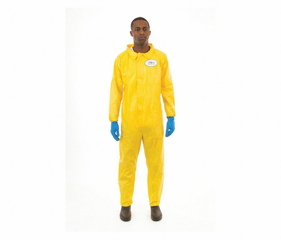 ChemSplash Chemical Resistant and Disposable Coverall, XL