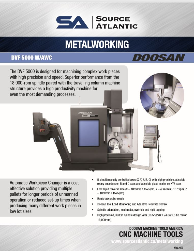 Metalworking Equipment & Cutting Tools