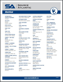 Electrical Products Line Card