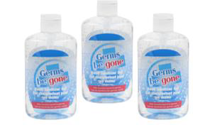 Germs be Gone Hand Sanitizer Gel, 60ml