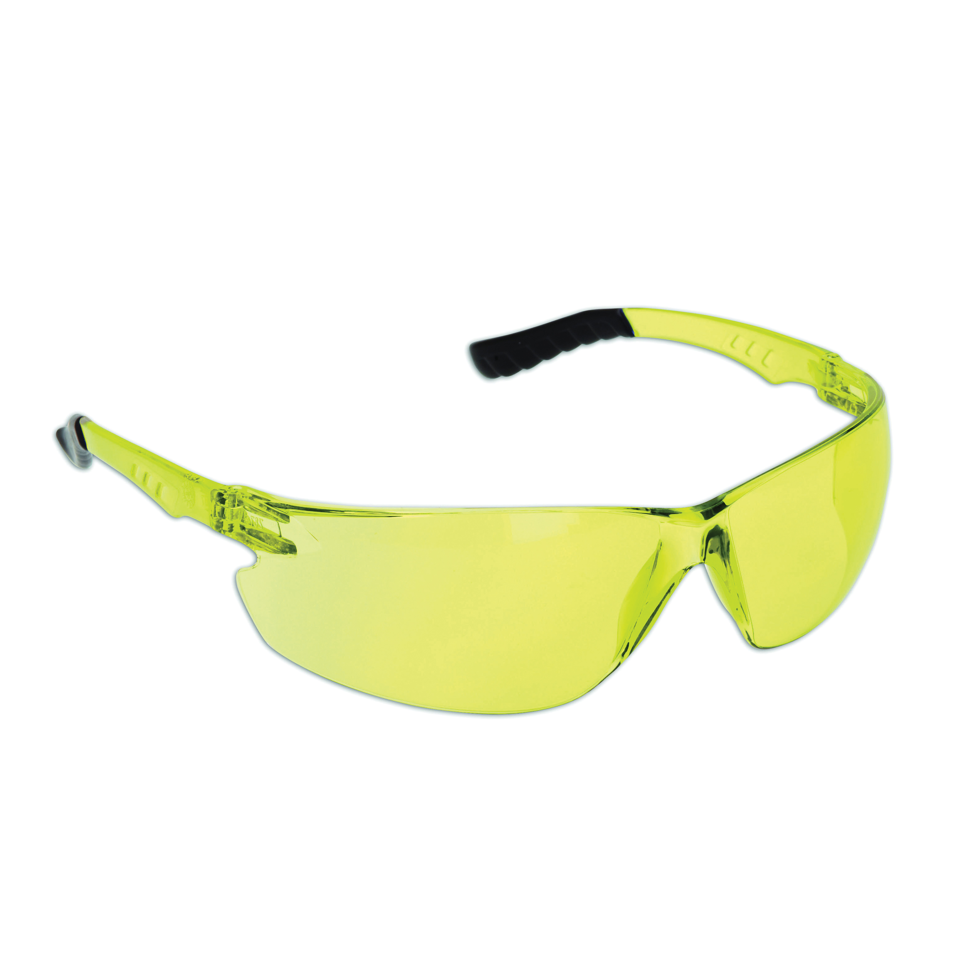 Dynamic Safety EP800A The Firebird Safety Glasses EP800 Series, Amber Frame, Amber Lens