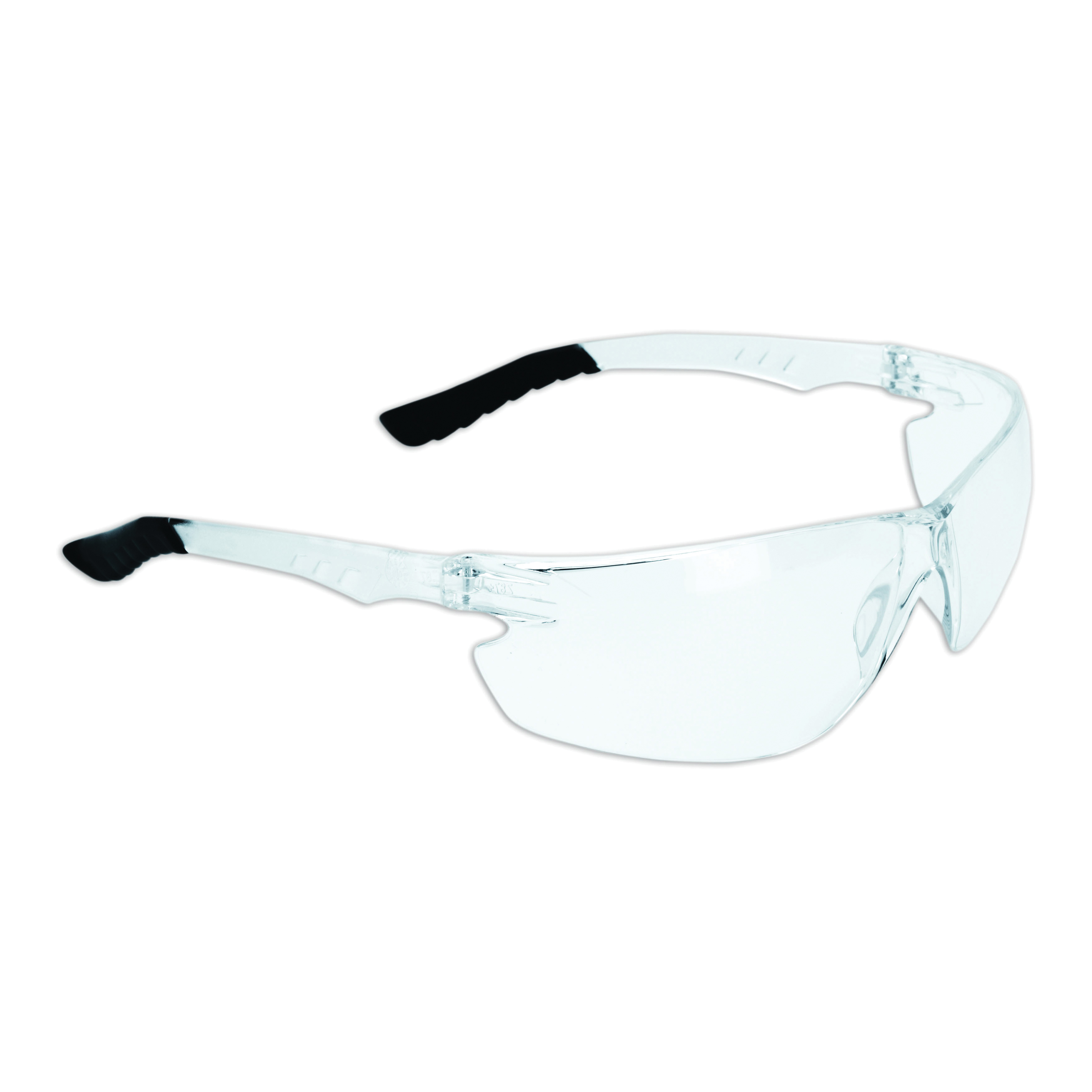 Dynamic Safety EP800C The Firebird Safety Glasses EP800 Series, Clear Frame, Clear Lens